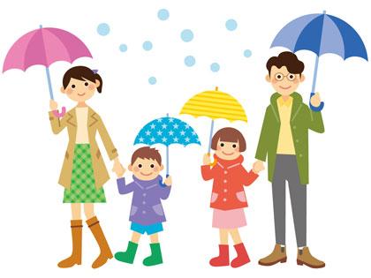雨の日 ディズニーランド 服装は?レインコートと傘どっちが ...