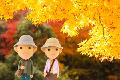 秋のディズニーリゾート