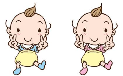 出産祝い双子