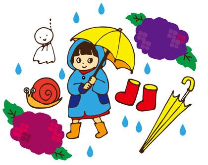 梅雨のコーデ