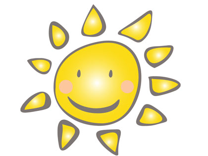 紫外線と雨と熱中症対策