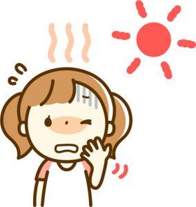 日焼け顔の皮